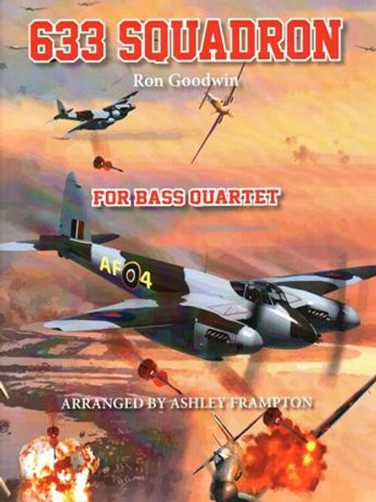 633 Squadron for Double Bass Quartet