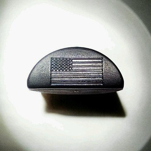 JP4 Slug Plug fits Glock, Engraved with US Flag