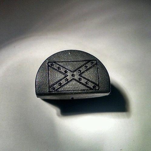Lone Wolf Slug Plug fits Glock, CONFEDERATE FLAG Engraved