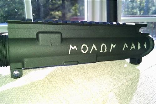 Anderson Upper Receiver Engraved w/ MOLON LABE