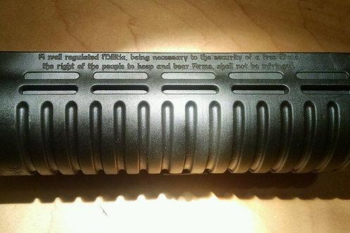 Mossberg 500 Shotgun Forend Engraved 2nd Amendment