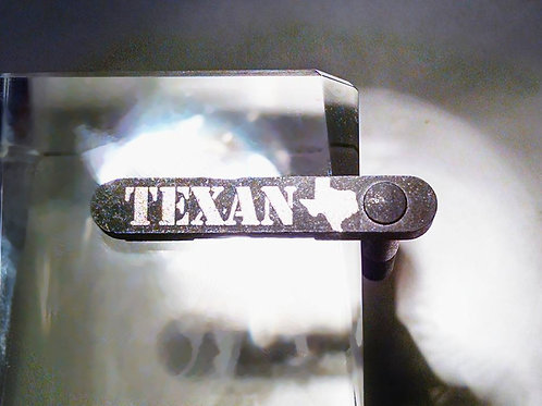 "Bold Silver ""TEXAN"" AR-15 Mag Catch"