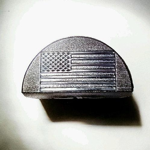 JP2 Slug Plug fits Glock, Engraved with USA Flag