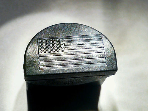 JP1 Slug Plug fits Glock, Engraved with USA Flag