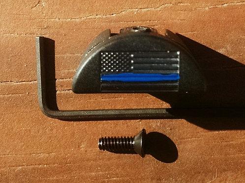 JP9 Slug Plug fits Glock, Thin Blue Line, Law Enforcement Support