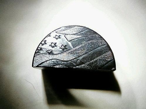 JP2 Slug Plug fits Glock, Engraved with Waving USA Flag