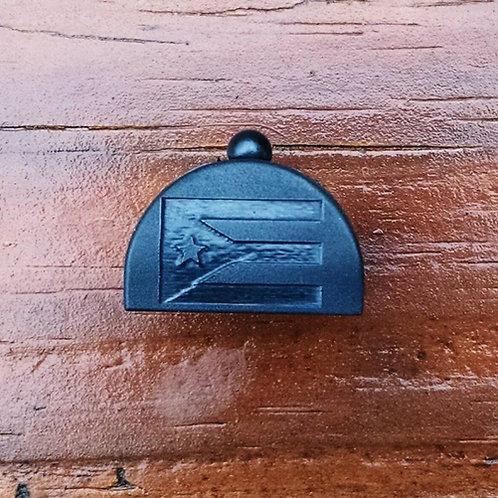 Lone Wolf Slug Plug fits Glock Gen 1-3, Puerto Rican Flag Engraved