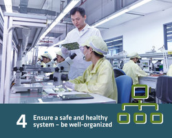 4 - ensure a safe and healthy system - be well - organized