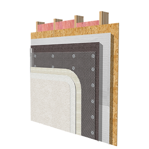 EIFS / Stucco attachment methods using Rodenhouse Fasteners. Grip-Plate®, Plasti-Grip®, Grip-Lok®.