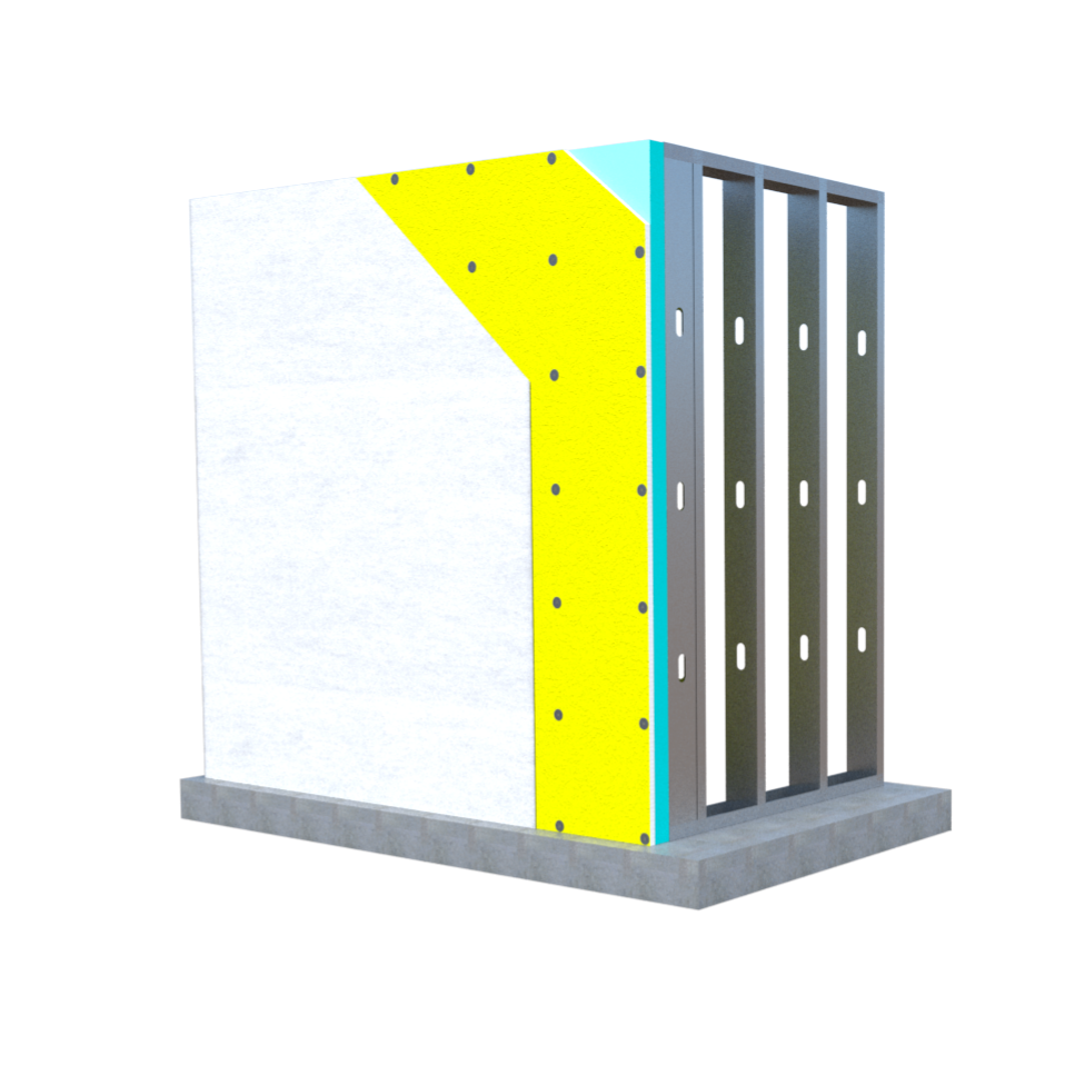 Inverted Wall System Gypsum Washer