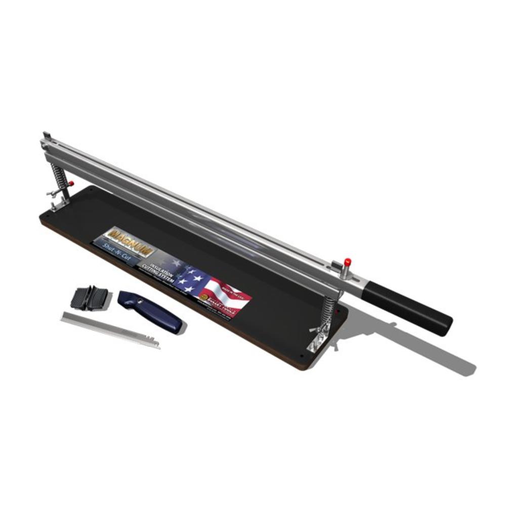Shut-N-Cut Insulation Cutting Tool