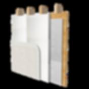 EIFS / Stucco attachment methods using Rodenhouse Fasteners. Grip-Plate®, Plasti-Grip®, Grip-Lok®.