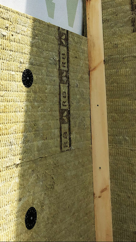 Fasteners to attach ROCKWOOL mineral wool from TRUFAST Walls