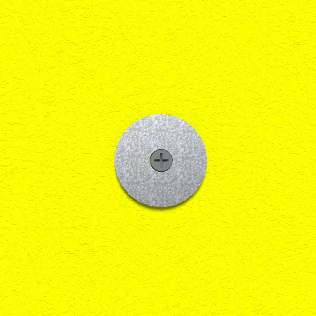 Grip-Plate Gypsum Washer