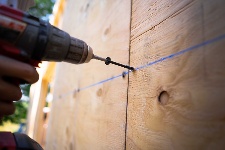 Hunter Xci Structural Insulated Panels Install SIP Screws from TRUFAST Walls