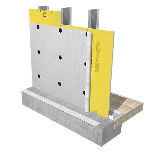 Commercial Building Wrap Attachment to Steel Studs