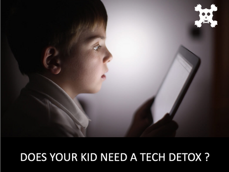 🕹 📱 💻 🎞 📺    Does Your Kid Need a TECH DETOX ?  🌈 🌴 🌸  🐥