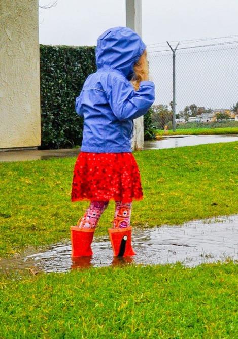 Rainy day fun!