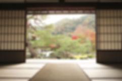 瞑想ガーデンのビュー