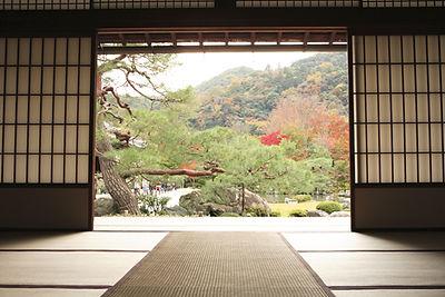 Udsigt over Meditation Garden
