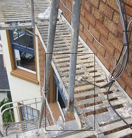 Fire Escape Handrail BEFORE