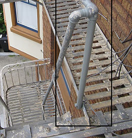 Fire Escape Handrail AFTER