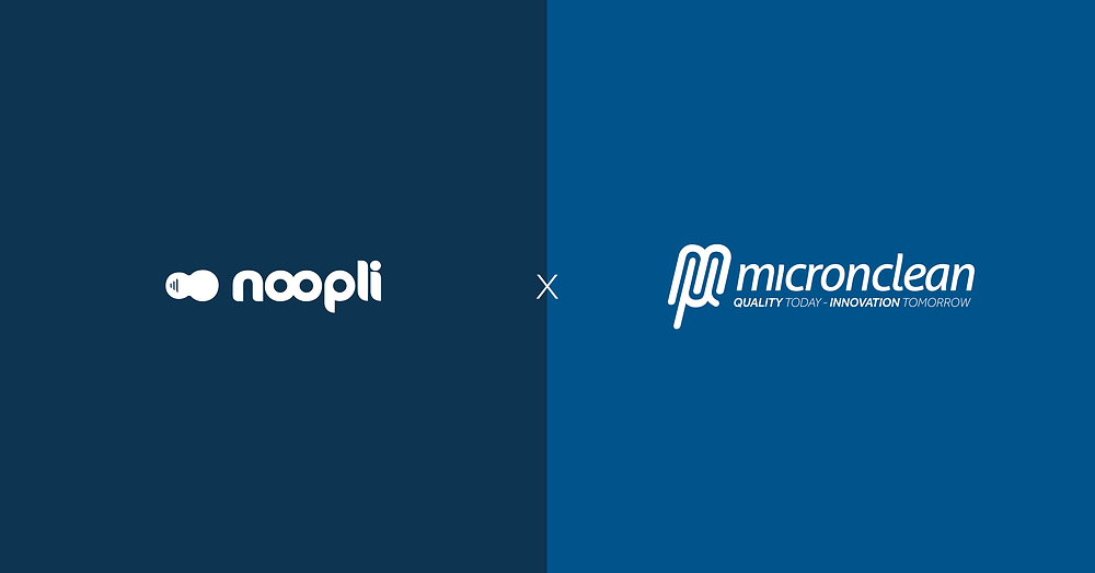 Noopli and Micronclean partnership announcement