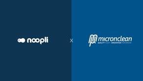 Noopli and Micronclean announce strategic partnership.