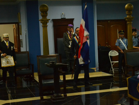 Solemne Acto de Recibimiento del SCG33RD en el Supremo Consejo Nacional de Panamá