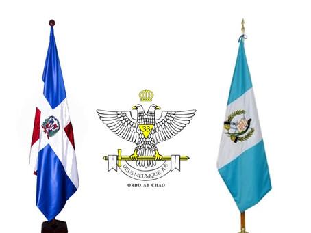 SCG33RD se solidariza con el Supremo Consejo de Guatemala por catástrofe volcánica.