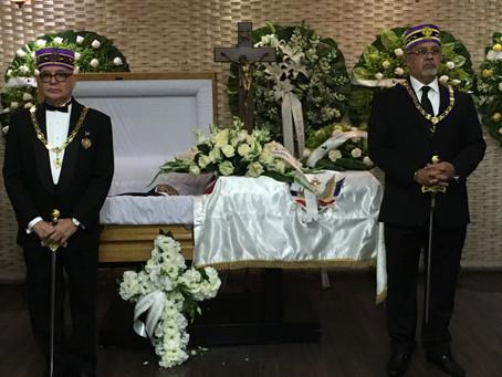 SCG33RD realiza Guardia de Honor Fúnebre