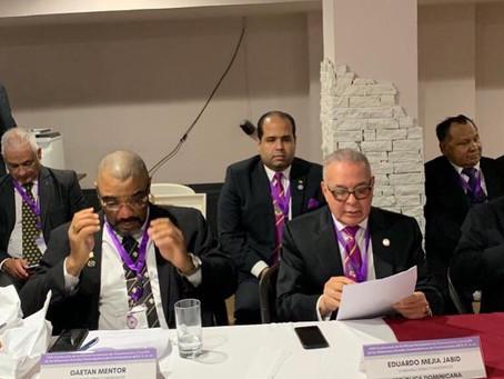 SCG33RD ingresa como miembro fundador y Presidente de la Conferencia de Supremos Consejos de Centroa