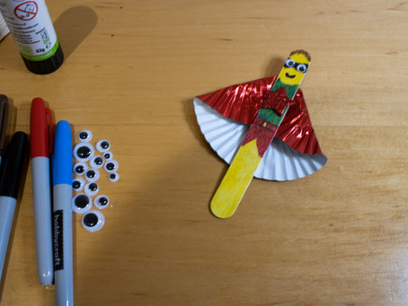 Light UP Creativity: Superhero Bookmarks