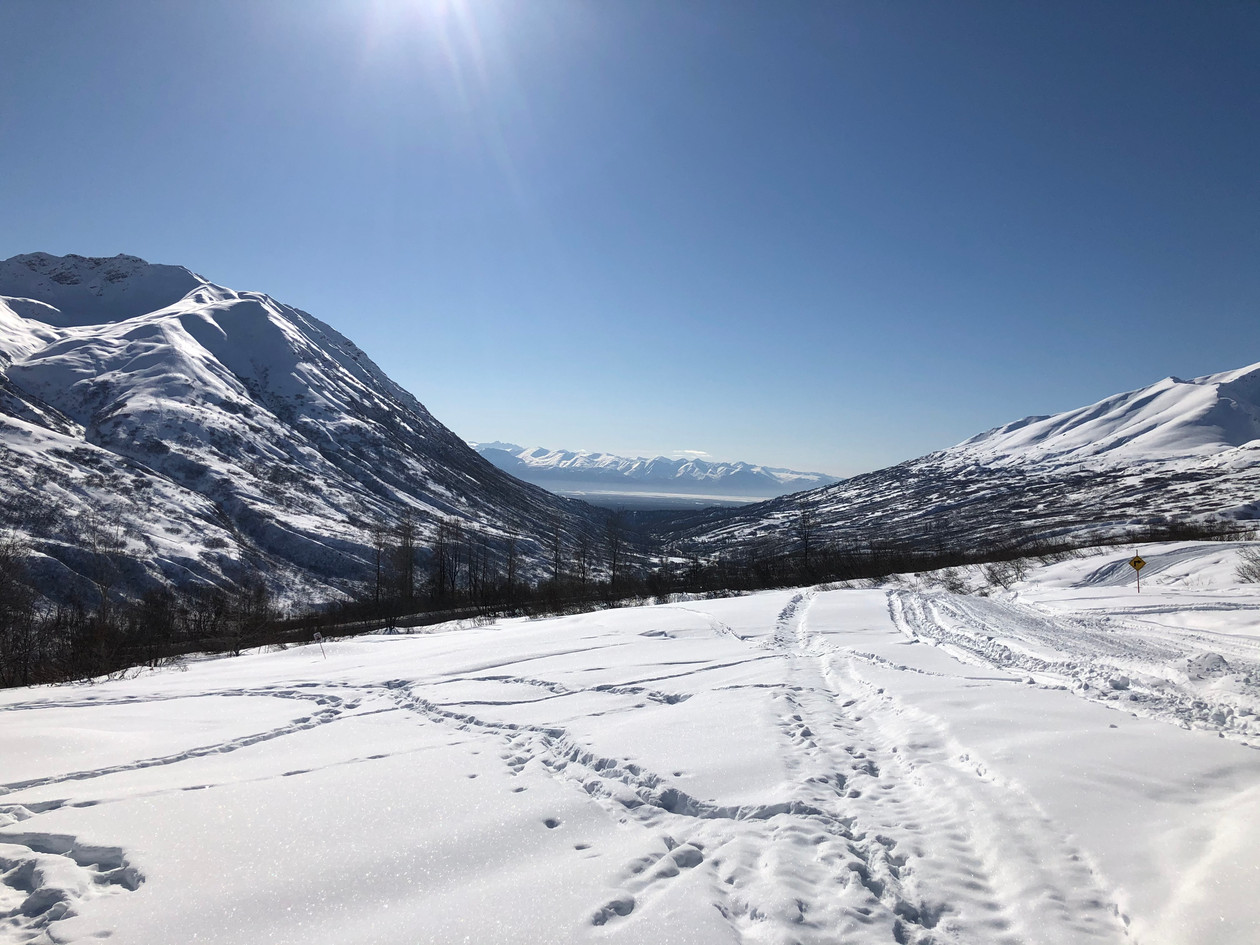A March view from Hatcher Pass