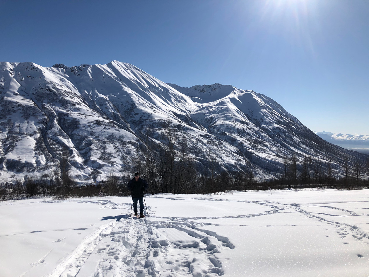Archangel Trail- A sunday afternoon with the snowshoes