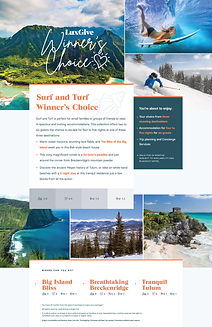 Surf and Turf Trip Package