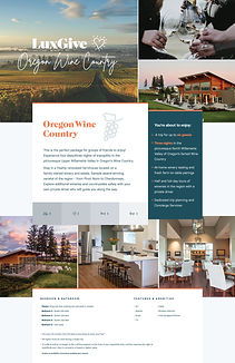 Oregon Wine Country Trip Package