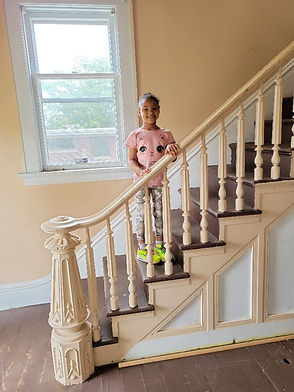 Stairway with Eliza