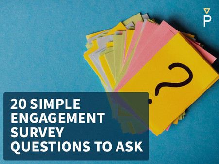 Finger on the Pulse (Survey) - 20 Simple Engagement Questions to Ask