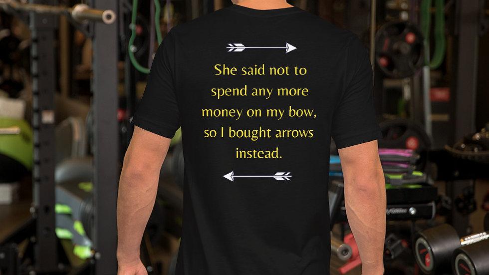 Money on my bow - Short-Sleeve T Shirt