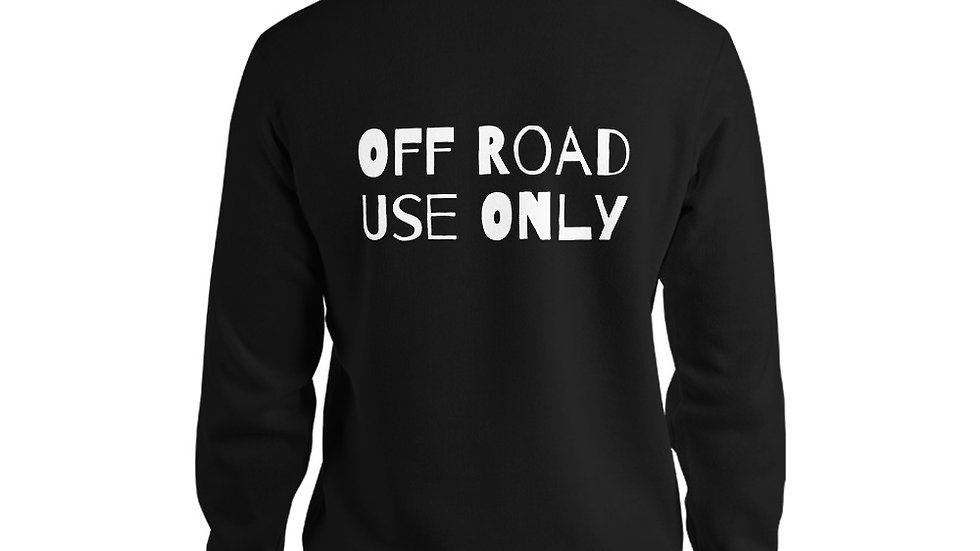Off Road Use Only - Bella Canvas Hoodie