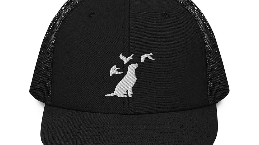 Duck and Dog Trucker Cap