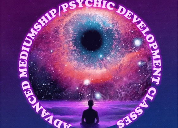8-Class Bundle Advanced Mediumship and Psychic Development