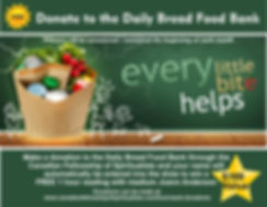 Food Bank Donation to win free reading 1