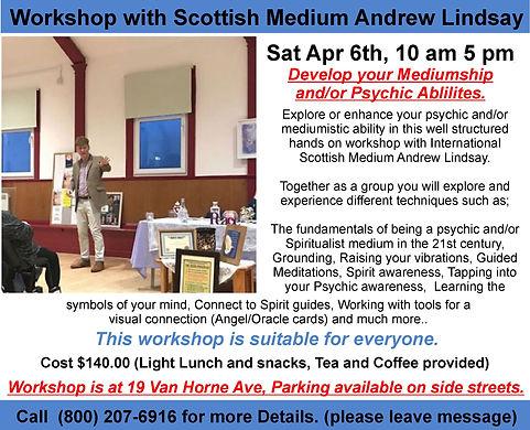 Saturday April 6     2019    Workshop 1