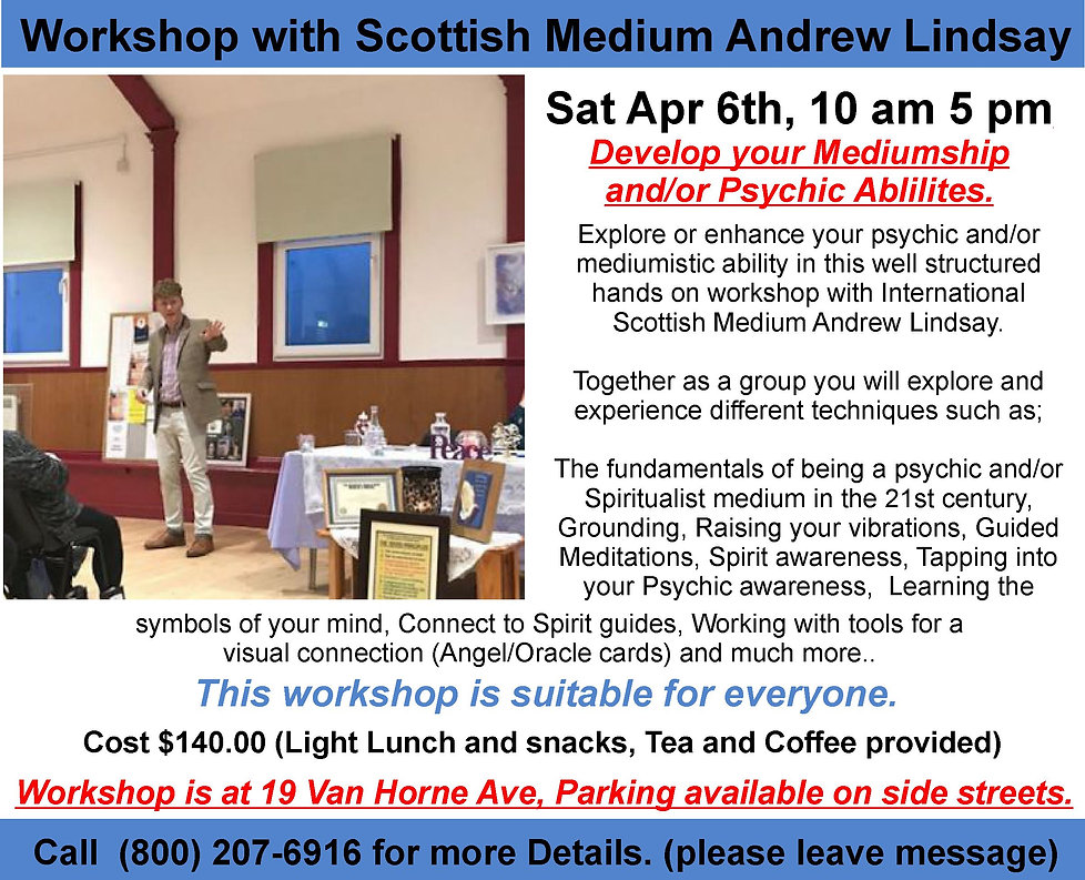 Saturday April 6     2019    Workshop 1