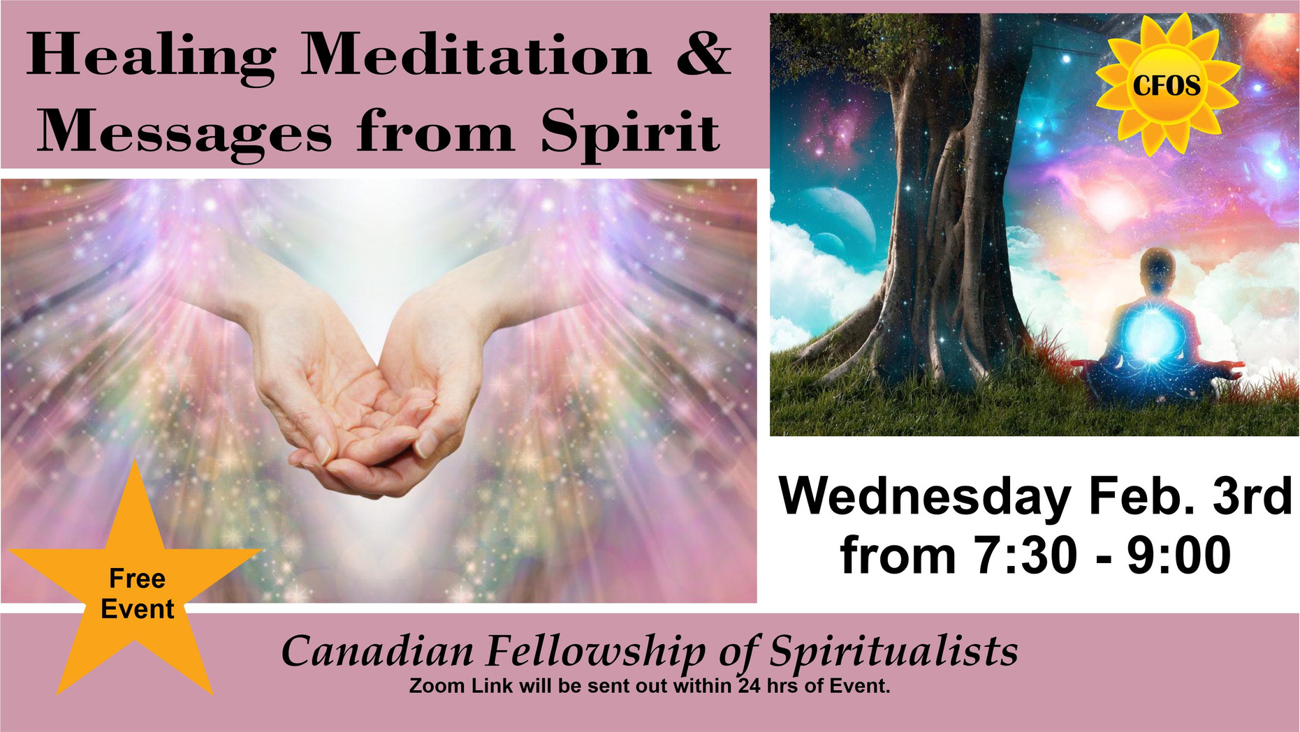 Healing and Meditation Evening