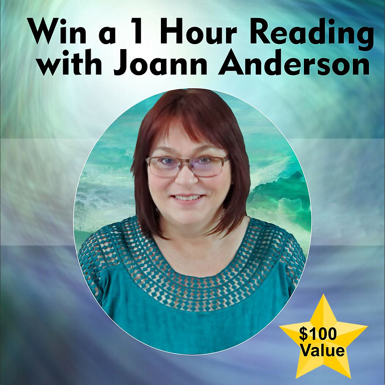 Win a FREE Private Reading with Joann