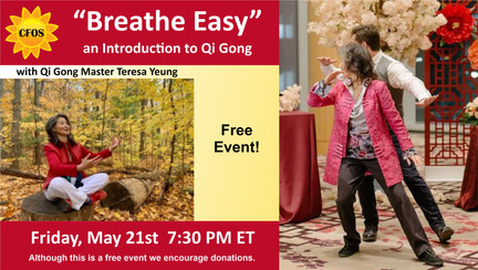 Breathe Easy an Introduction to Qi Gong.
