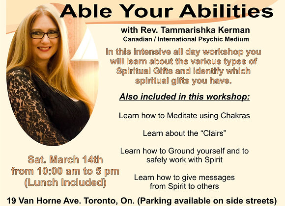 Able Your Abilities with Rev. Tammarishka Kerman